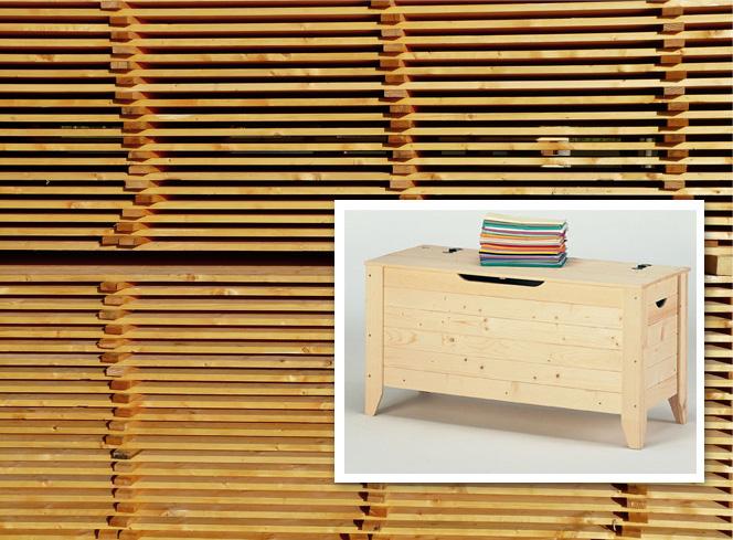 Mobili bagno legno grezzo idee creative e innovative - Legno grezzo mobili ...